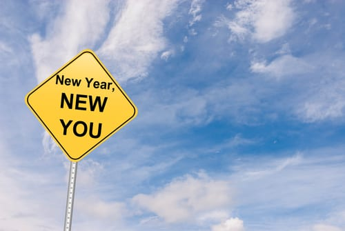 New Year, New You road sign
